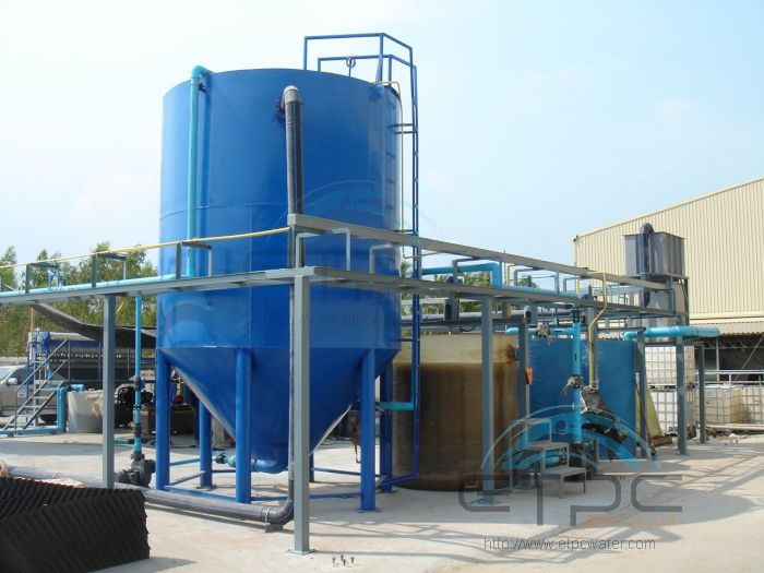 Chemical Treatment Plant No 2 In Wastewater Treatment