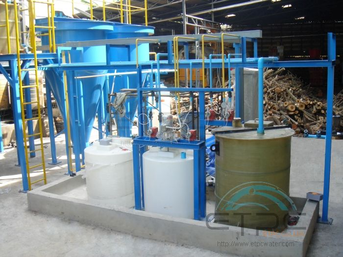 Chemical Treatment Plant No 1 In Wastewater Treatment