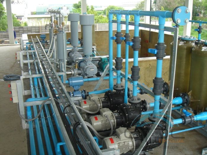Heavy Metal Removal Plant In Wastewater Treatment System